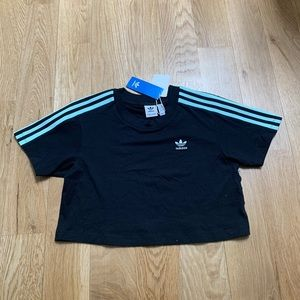 NEW WITH TAGS Adidas Cropped Tee